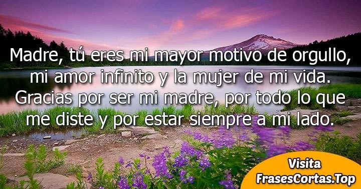 Frases Para Mamá Cortas Bonitas De Amor Feliz Día De La